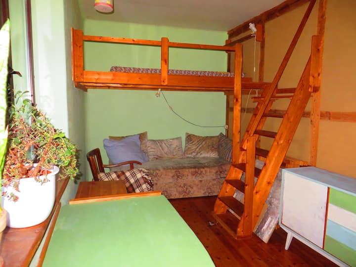 Bio Urlaub in kleinem ruhigen Zimmer mit 2 Betten