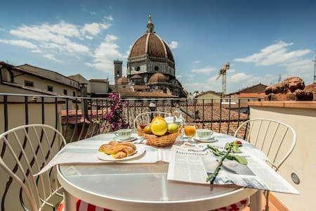 Terrasse Vue Inoubliable Florence - Florence - Apartment