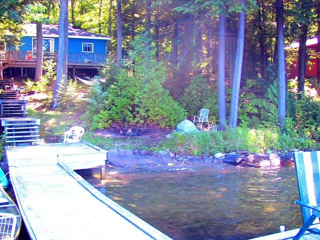 3 Bdrm Cottage on spring-fed lake