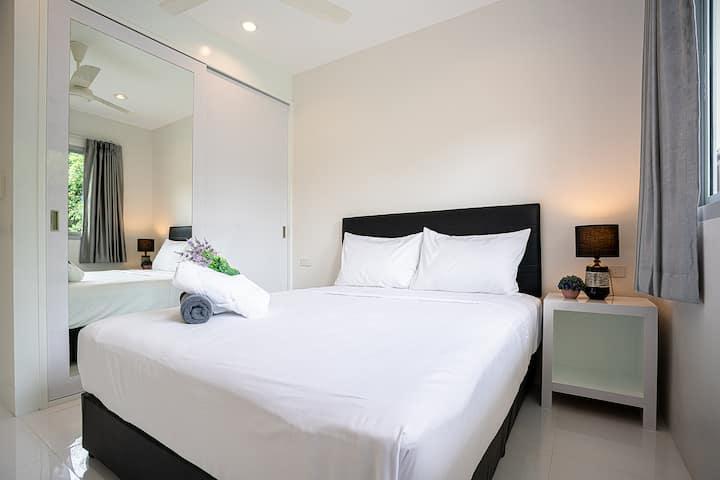 So Sunland Residence & pool -2 BD Apt (LongTerm-8)