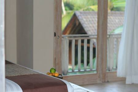 Peacefully 2Bed Villas with Garden and Jungle View - ウブド