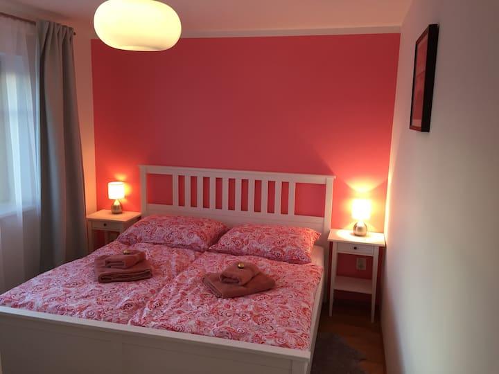 Apalucha49 Čeladná-Růžový pokoj - 4 osoby