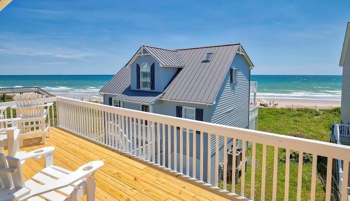 Star Struck- Ocean Views/Pool/Steps from Beach!