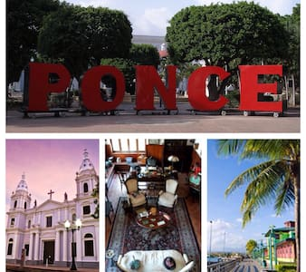 (B) CENTER OF PONCE, MINI STUDIO - Ponce - Leilighet