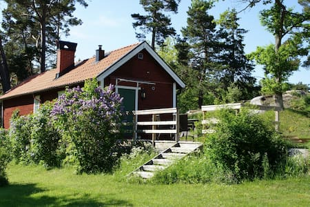 Charming house w/ garden by the sea - Österåker Municipality