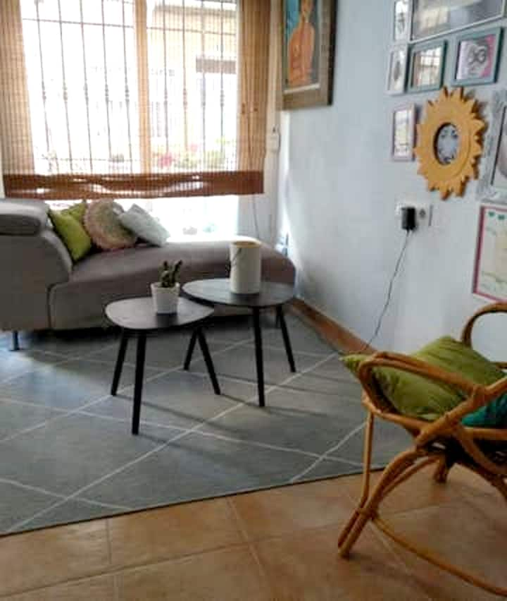 House with 2 bedrooms in Castelló de la Plana, with WiFi
