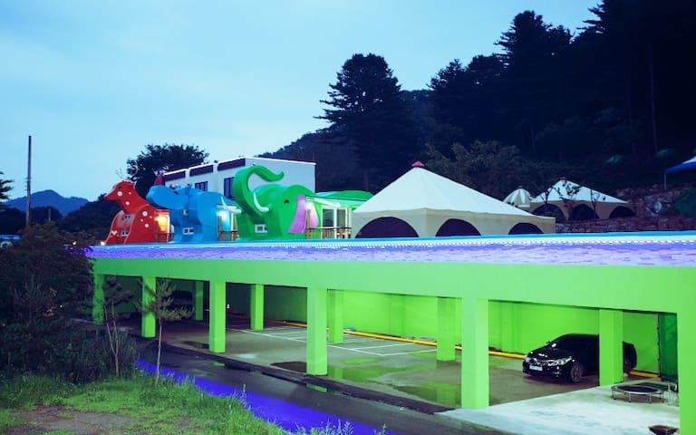 가평 동물카라반펜션 - Gapyeong-gun
