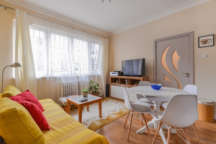 Welcoming One Bedroom on Vasil Levski Boulevard