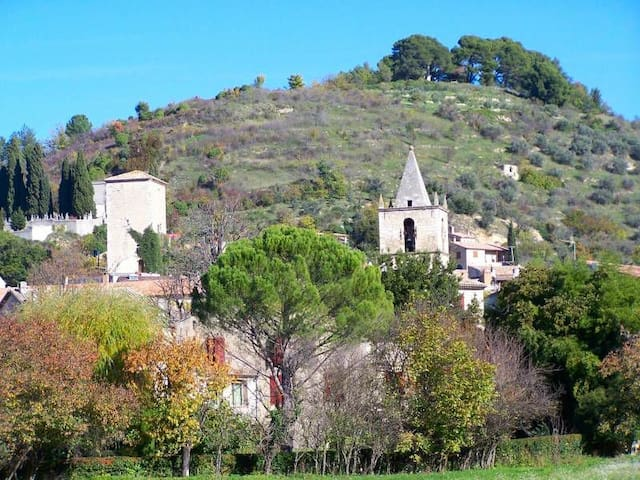 House 2 bedrooms, 4 people in Provencal village