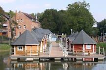 Schwimmende 3 Personen Hütte 2.3