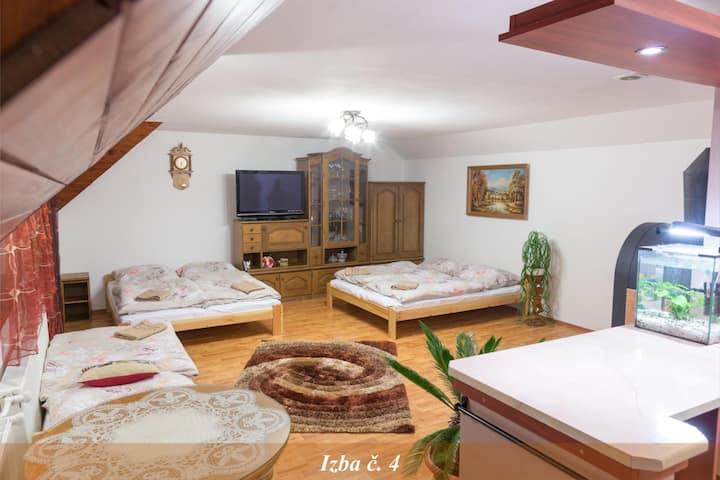 Rodinná izba s terasou