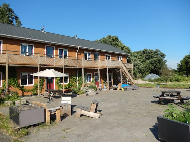 Amsterdam Farm Lodge: ideal for families