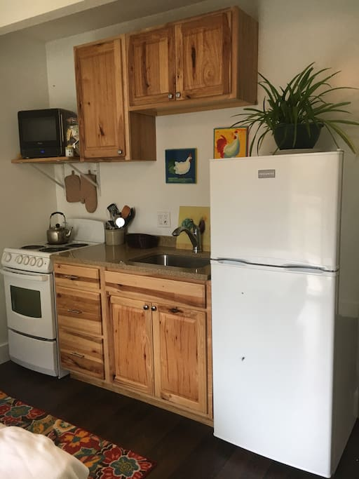 Efficient full kitchen
