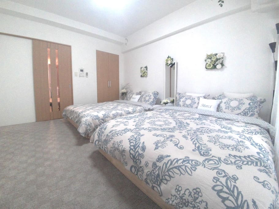 Clean and  call portable room .   you can use all room !   not  shared  other guest