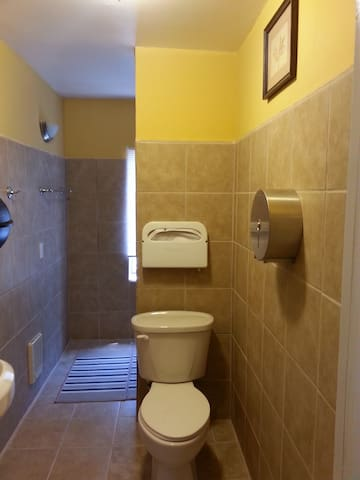 2nd downstairs full bathroom