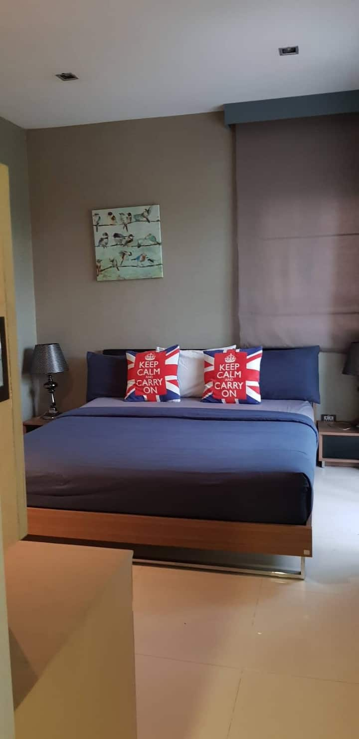Private house access the pool in Hua-Hin 8 pax