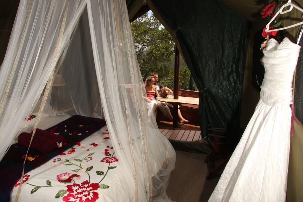 Louries Nest Bedroom