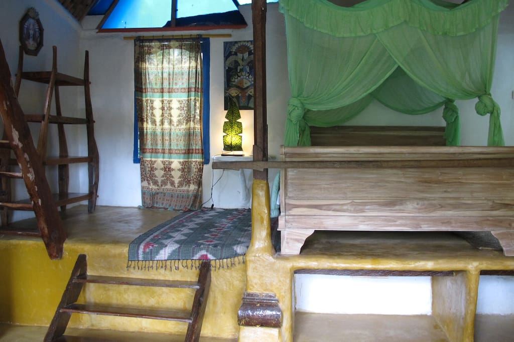 room with a loft in Ubud!