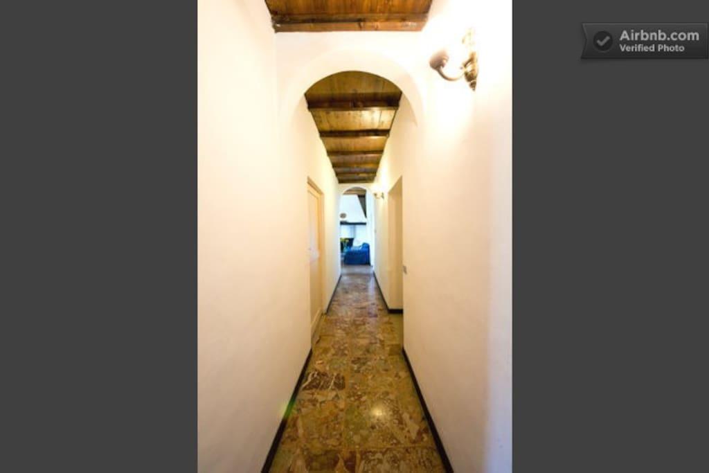 Corridoio bed and breakfast Santa Caterina