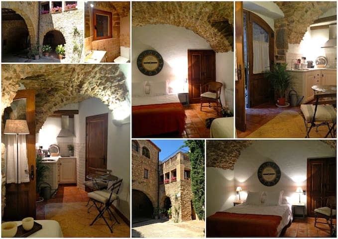 Charming studio apartment - Monells - Byt