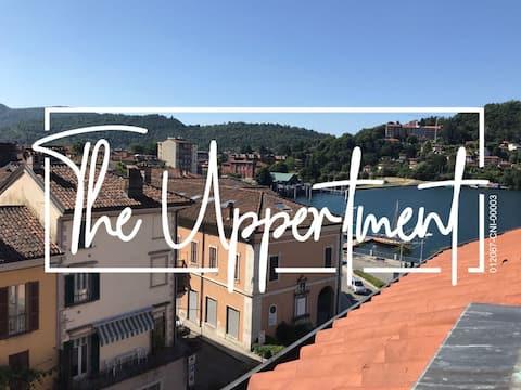 The Uppertment | Centralissimo bilocale vista Lago