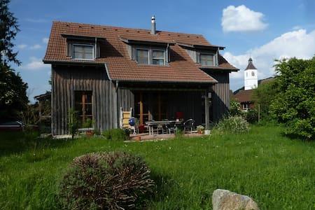 Zimmer in charmanten Holzhaus Grün - Rodersdorf