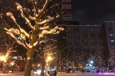 5 Minutes walk to Sapporo Sta.Free transport/WiFI - Kita Ward, Sapporo