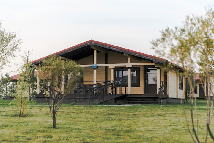 Дом для отдыха в Загородном Клубе Fisherix