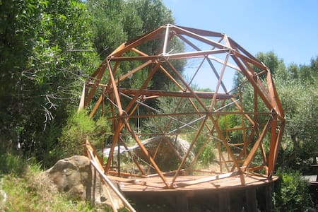 #06 GEODESIC DOME AND COSY SPACE IN NATURE - FACINAS - İglo