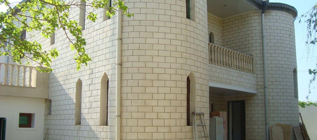 Castle in Pirshaga Gardens - Baku