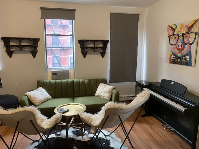 Large 2 bedroom Moroccan oasis in the East Village