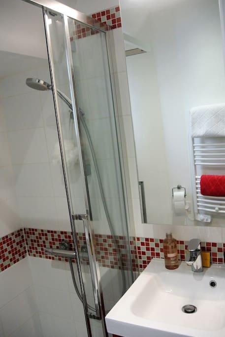 Salle de bain (porte coulissante)