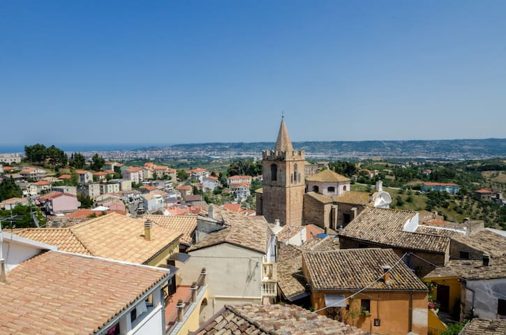 Pescara vista da Spoltore