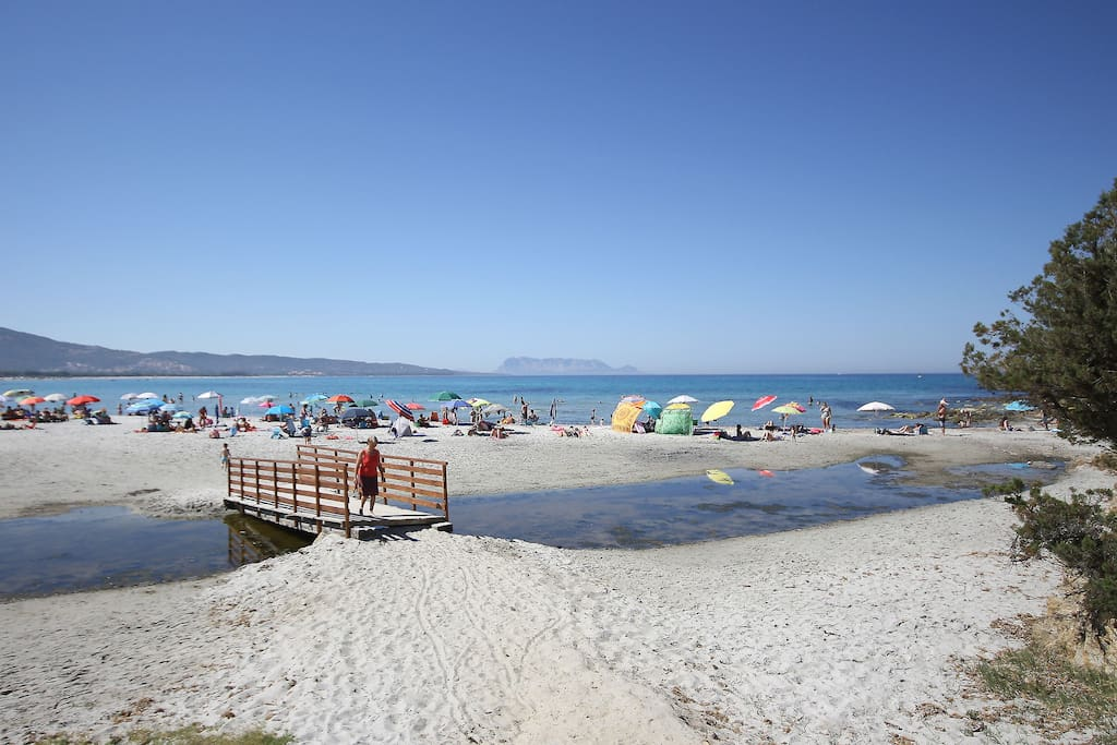 The nearby beach of Capannizza