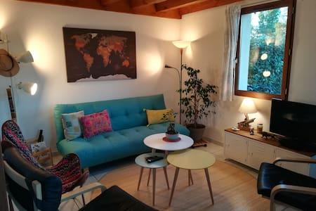 Maison et jardin, 5 personnes, 8km plage de Contis