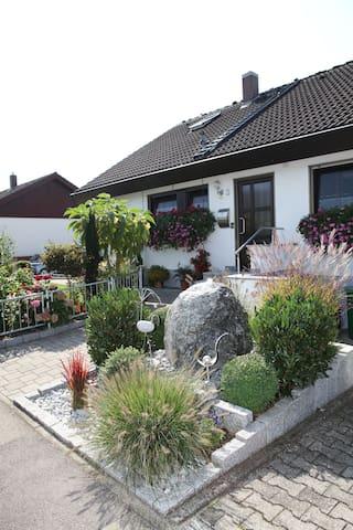 Gemütliche Ferienwohnung nahe Bodensee - Pfullendorf - Casa de vacances