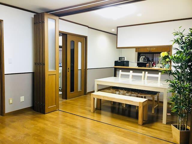新宿5分钟 7室一厅 别墅