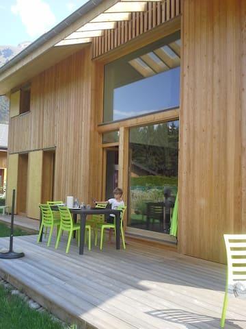 B&B Chambre 2 pers et sdb à Samoëns - Samoëns - House