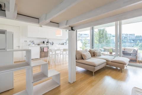 Studio apartment, MM2 Milanofiori.
