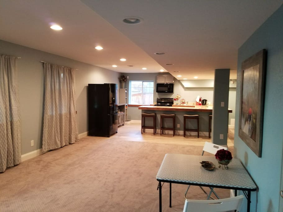 Main living space as you come in.
