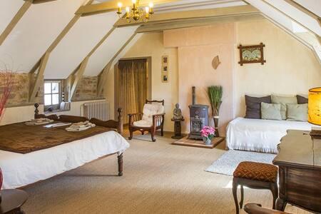 Chambre de 2 à 4 personnes à Séverac l'Eglise - Sévérac-l'Église - Bed & Breakfast