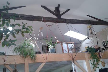 Un loft atypique en pleine campagne - Brux
