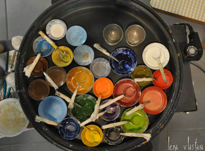 Encaustic paints