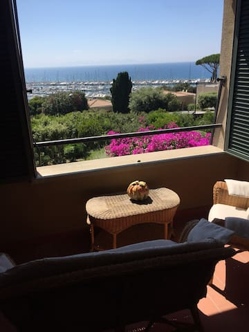 Splendida vista sull'arcipelago toscano - Punta Ala
