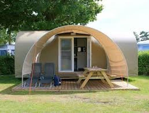 Bungalow insolite coco sweet au Camping d'Epinal - Épinal - บังกะโล
