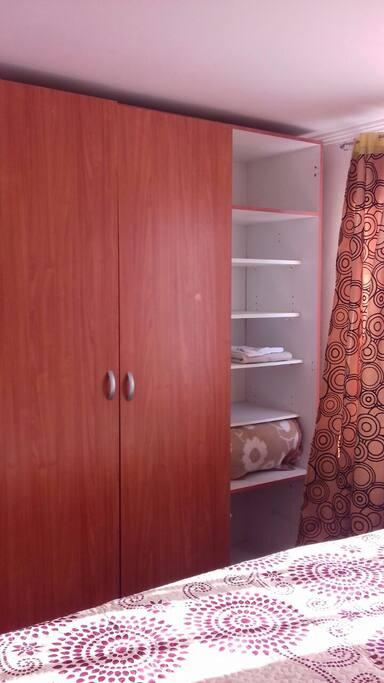 Closet habitación principal