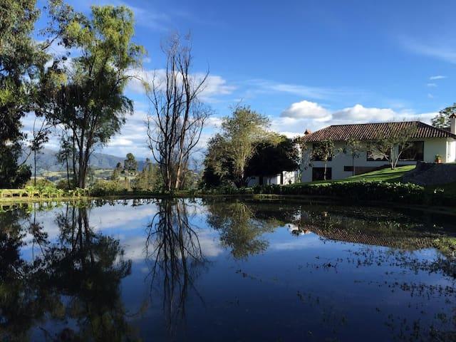 Hacienda Arboloco, Neusa - Cogua - Villa