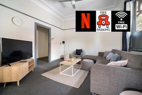 3 Pokoj PARRAMATTA HOME - Wi-Fi/Parkování/Zahradní dvůr