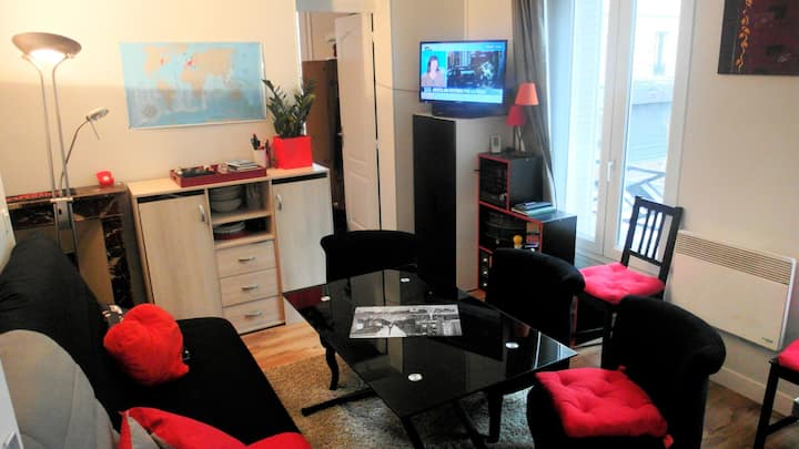 Shared flat, nice and well situated