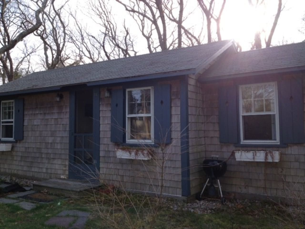 Charming shingles and shutters